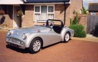 Triumph TR3 total restoration